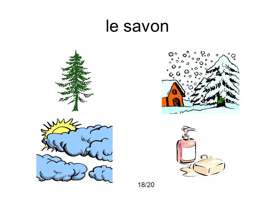 le savon 18/20