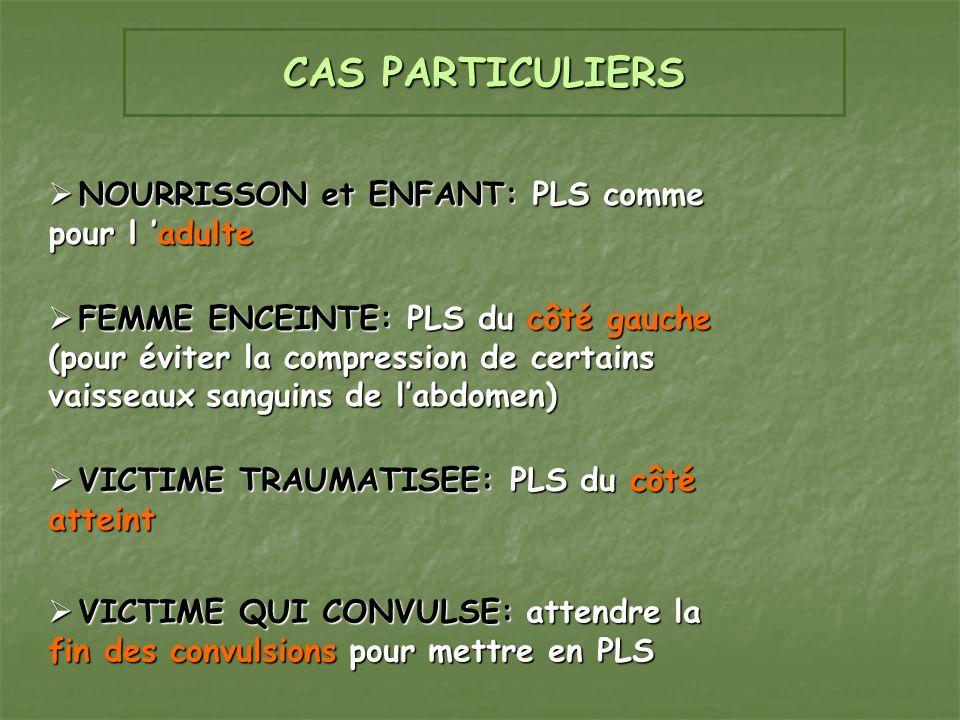 LA PLS: POSITION LATERALE DE SECURITE