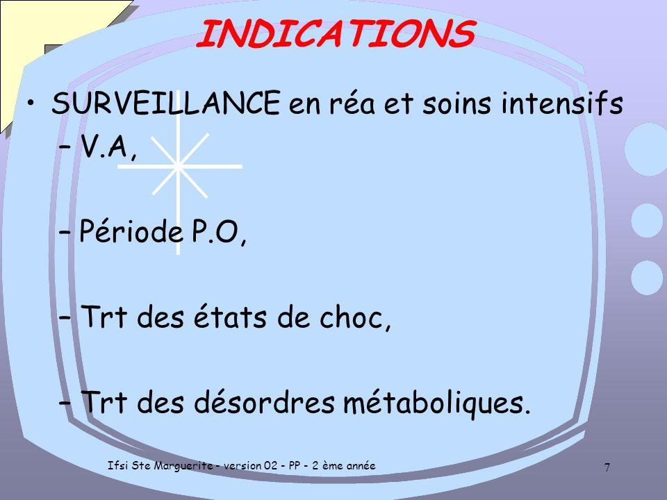 Ifsi Ste Marguerite - version 02 - PP - 2 ème année 6 INDICATIONS EN URGENCE pour diagnostic et évaluation de la gravité –Détresses respiratoires: BPC