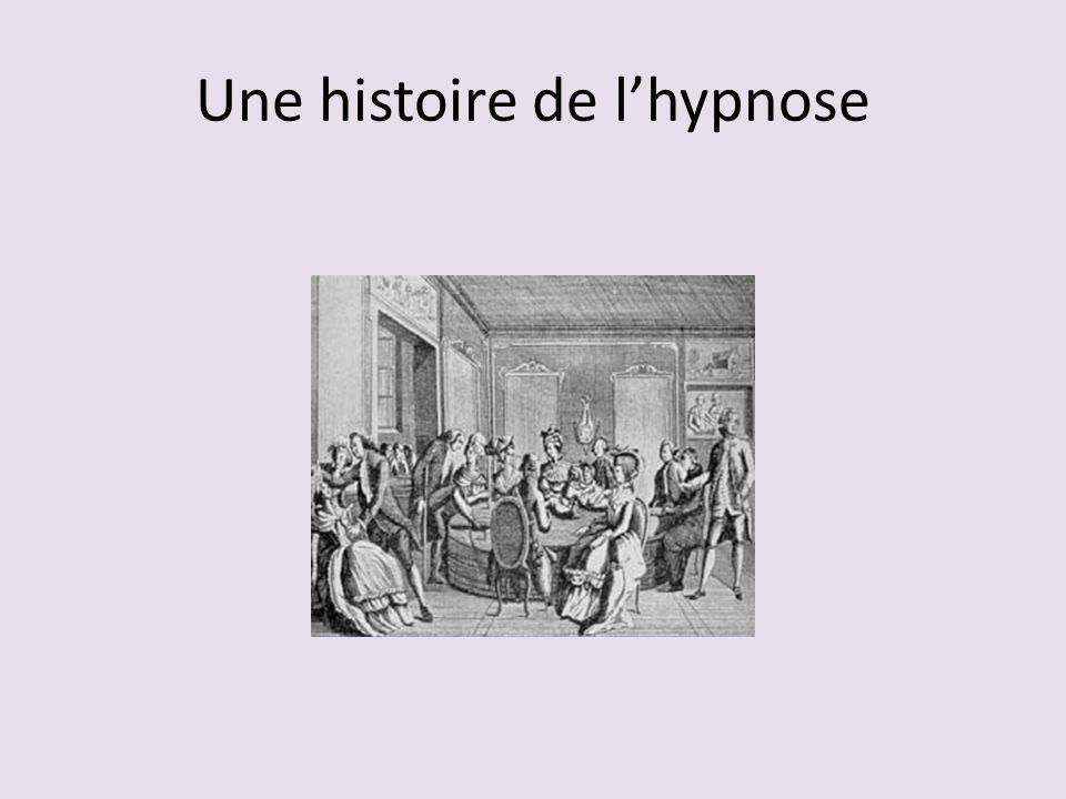 Une histoire de lhypnose