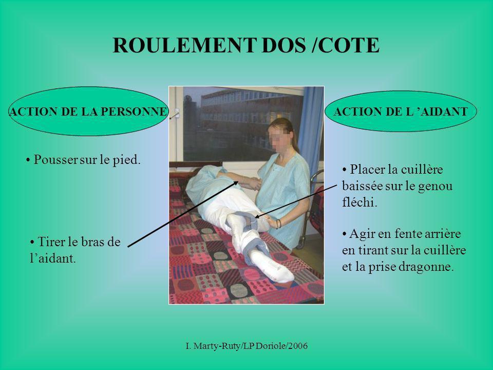 I. Marty-Ruty/LP Doriole/2006 TECHNIQUES D AIDE AUX ACTIVITES MOTRICES BEP Carrières Sanitaires Sociales