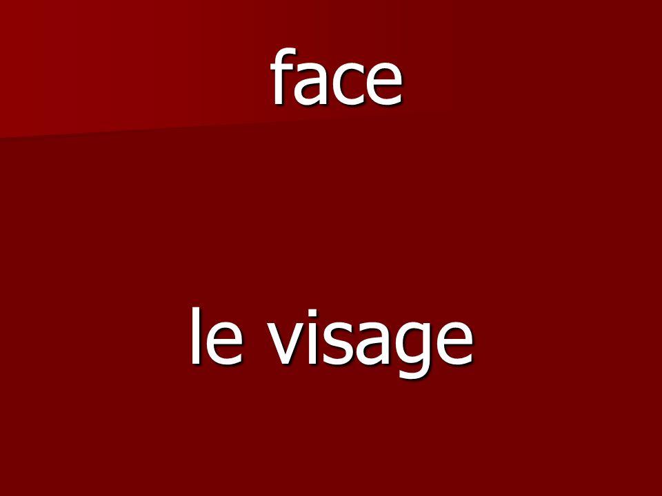le visage face