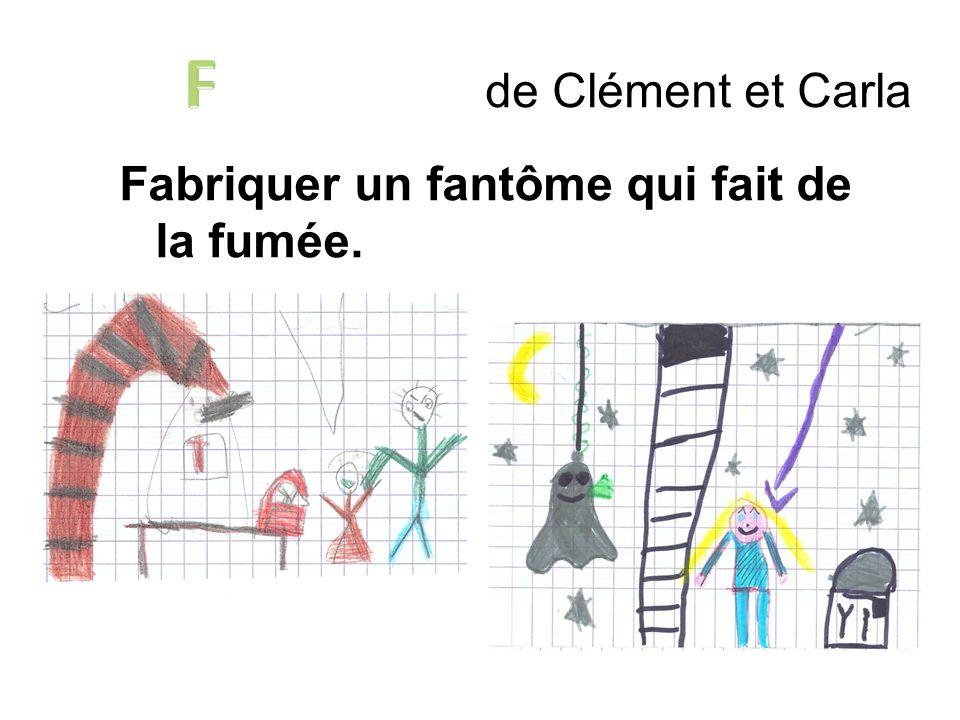 de Clément et Carla Fabriquer un fantôme qui fait de la fumée.