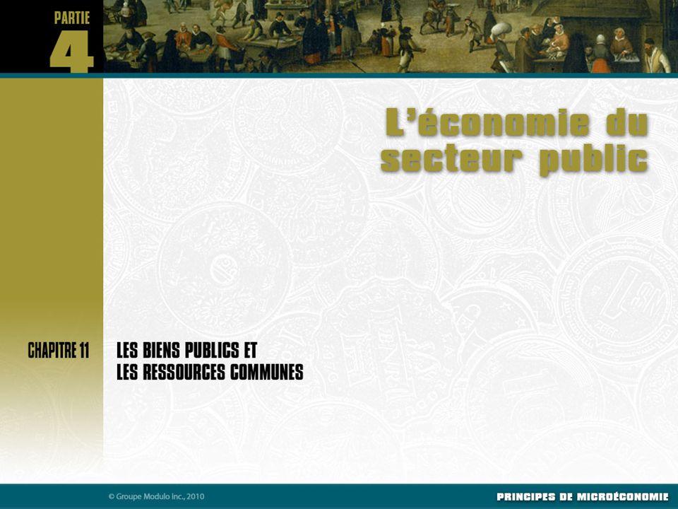 Connaître les caractéristiques essentielles des biens publics et des ressources communes.