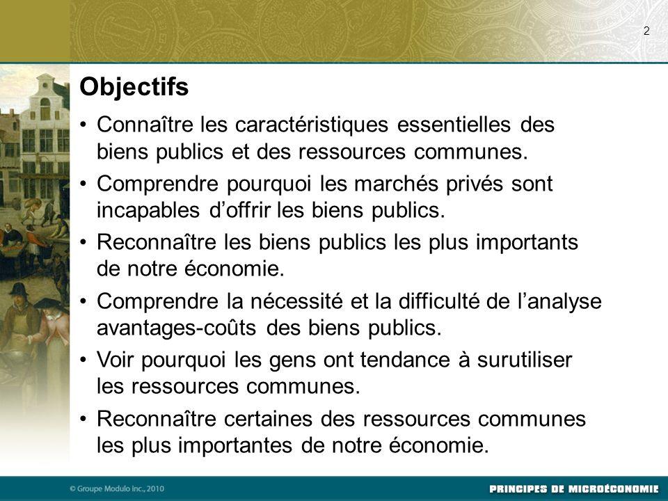 Les ressources communes, comme les biens publics, ne sont pas assujetties au principe dexclusion dusage : elles sont à la disposition de tous gratuitement.