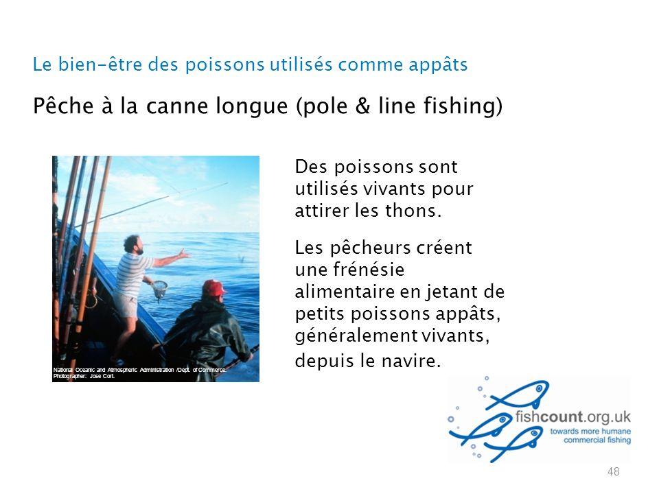 Le bien-être des poissons utilisés comme appâts 48 National Oceanic and Atmospheric Administration /Dept.