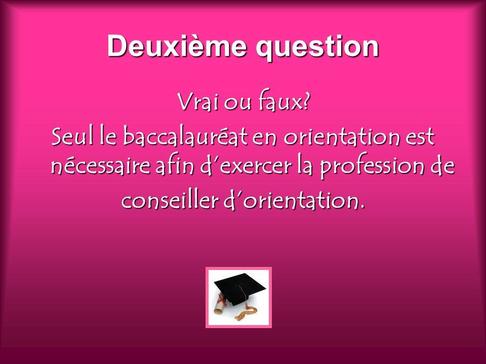 Réponse Faux.