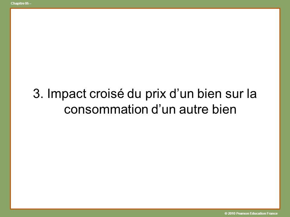 ® 2010 Pearson Education France Chapitre 05 – 3.