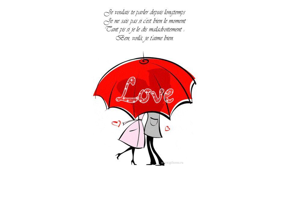 Pierrette Bruno, André Bourvil Je taime bien Saint Valentin 14 février Par Nanou et Stan