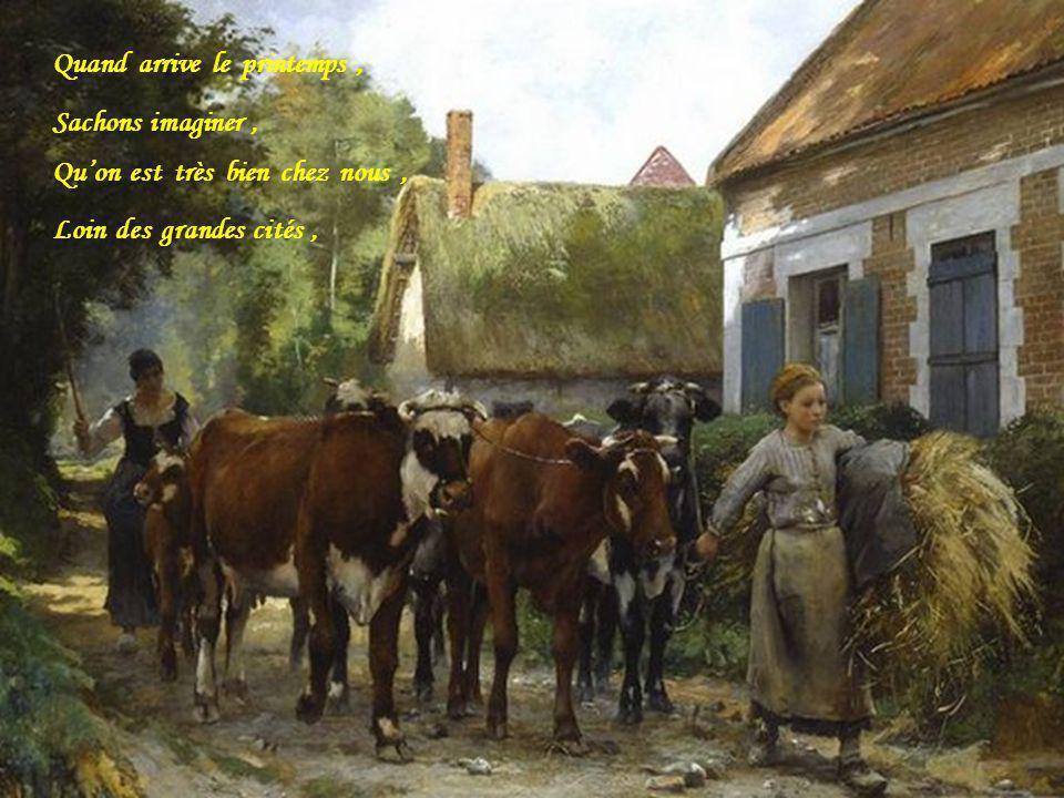 A nous tous maintenant, De savoir protéger, Ce petit coin de France, Qui a su nous aimer,