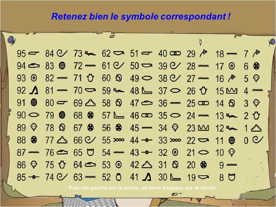 Et maintenant, regardez le symbole correspondant à ce nombre... ?