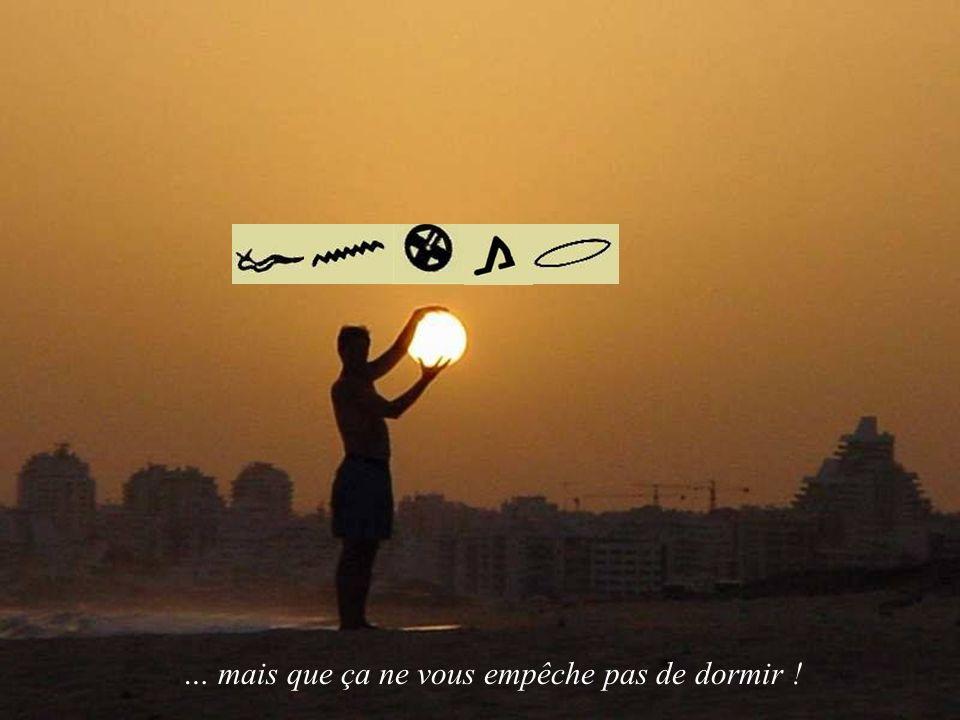 Allez, ça suffit pour aujourdhui…Au revoir, et que la paix soit avec vous...