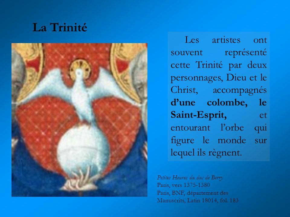 Petites Heures du duc de Berry Paris, vers 1375-1380 Paris, BNF, département des Manuscrits, Latin 18014, fol. 183 Les artistes ont souvent représenté