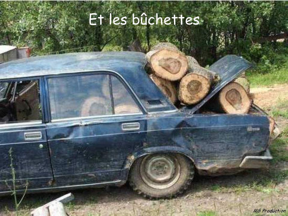 MG Production Dautres les cagettes pour le barbecue..