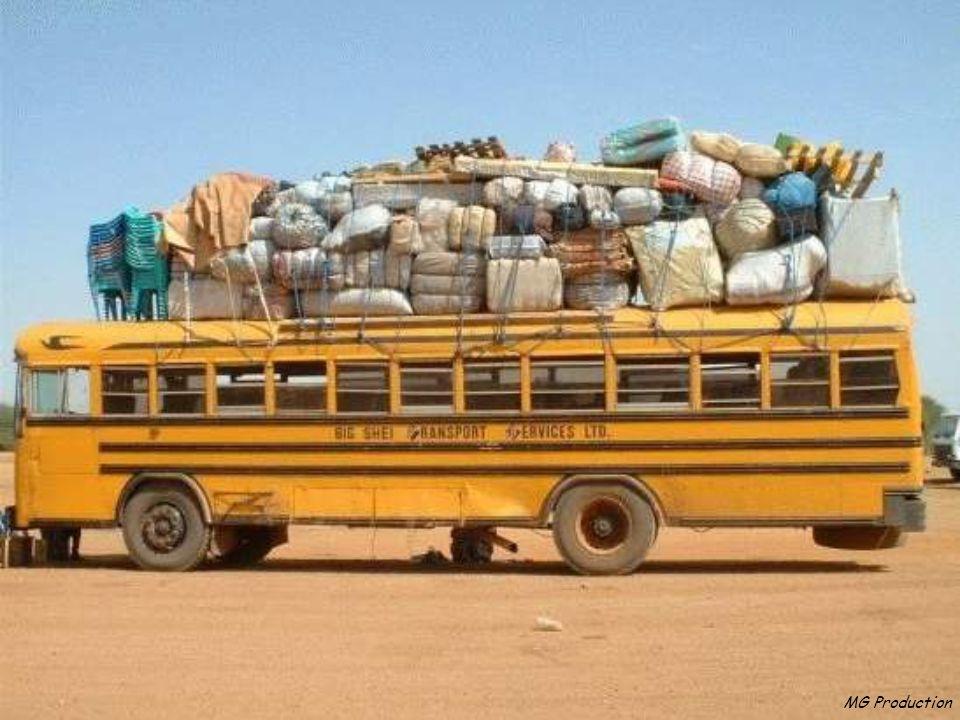 MG Production Certains préfèreront les transports en commun..