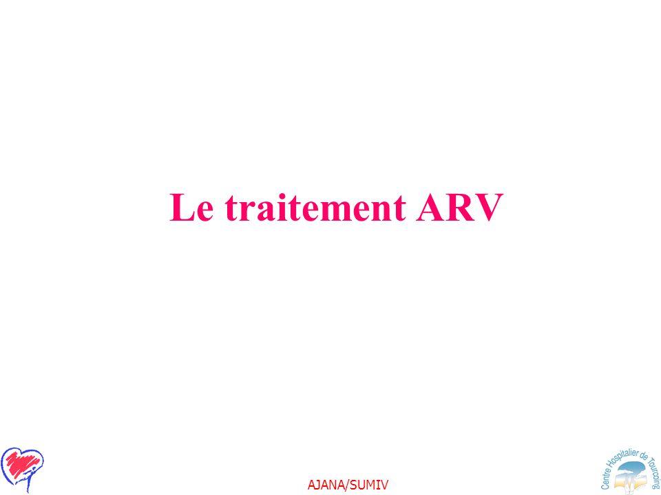 AJANA/SUMIV Le traitement ARV