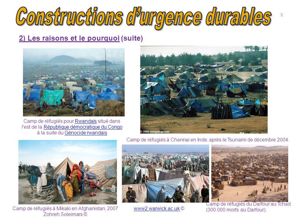 Camp de réfugiés pour Rwandais situé dans l'est de la République démocratique du Congo à la suite du Génocide rwandaisRwandaisRépublique démocratique