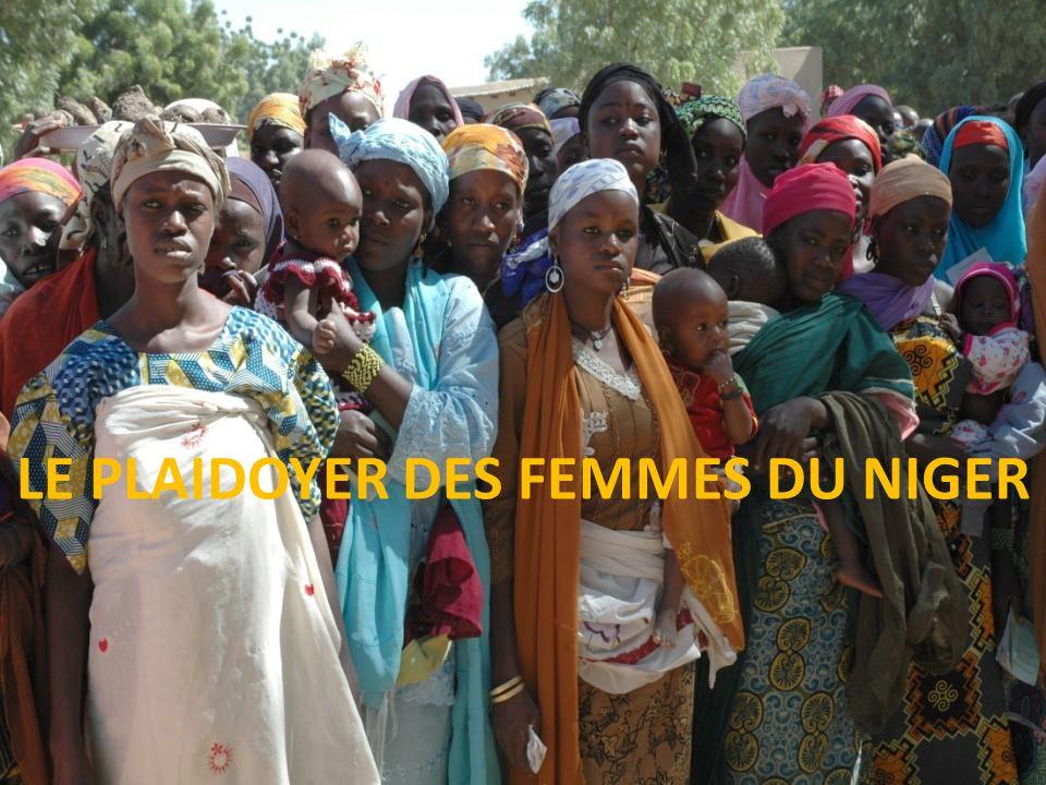 Les femmes du Niger profond prennent la parole… LE PLAIDOYER DES FEMMES DU NIGER