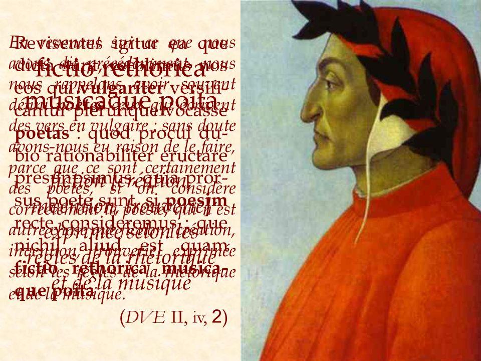 Revisentes igitur ea que dicta sunt, recolimus nos eos qui vulgariter versifi- cantur plerunque vocasse poetas : quod procul du- bio rationabiliter er