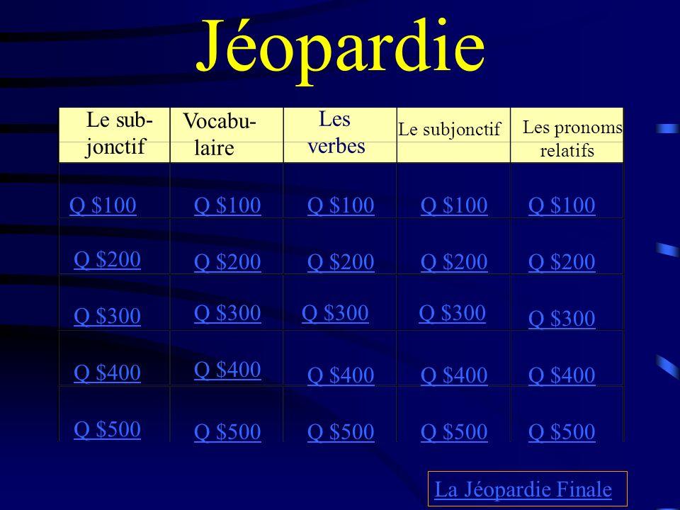 $500 Answer from Les verbes je naisnaissons tu naisvous naissez il naîtils naissent (être) né