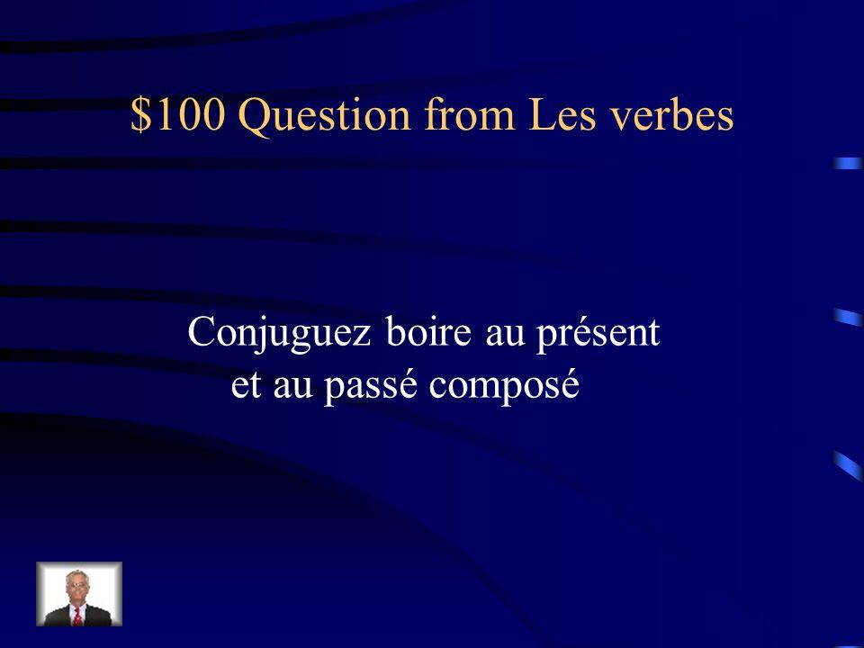 $500 Answer from Vocabulaire les aliments biologiques