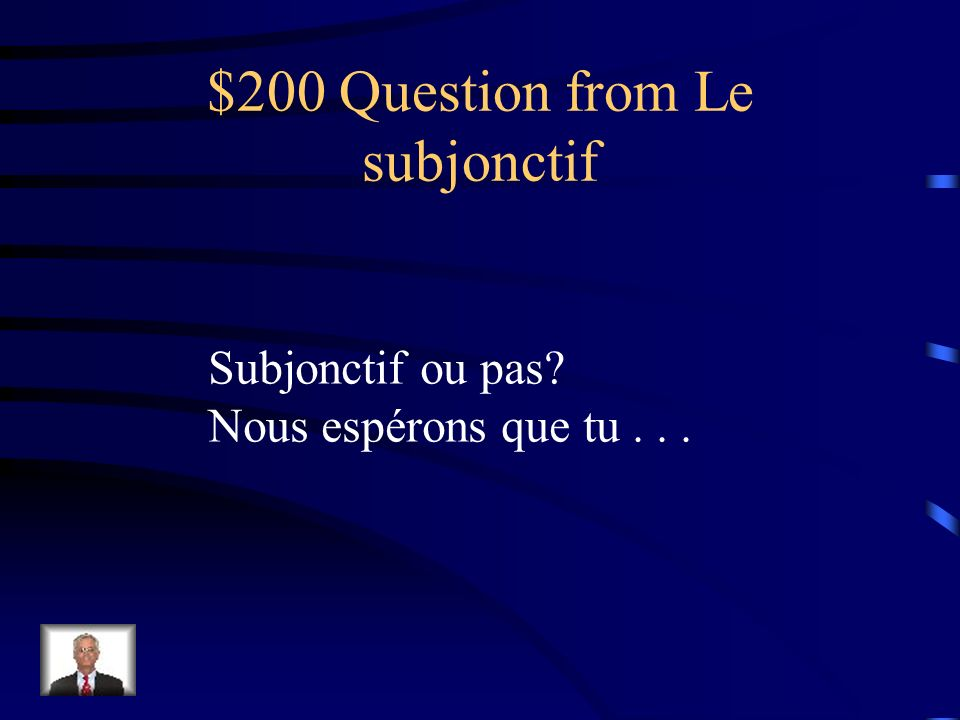 $200 Question from Vocabulaire Comment dit-on unbearable?