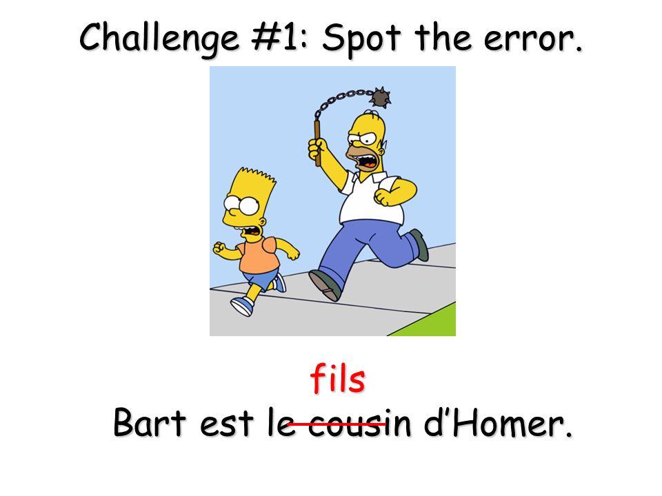 Maggie et Lisa sont les frères (non- soeurs) de Bart.