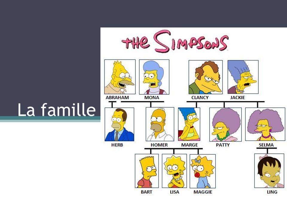 La famille des Simpsons