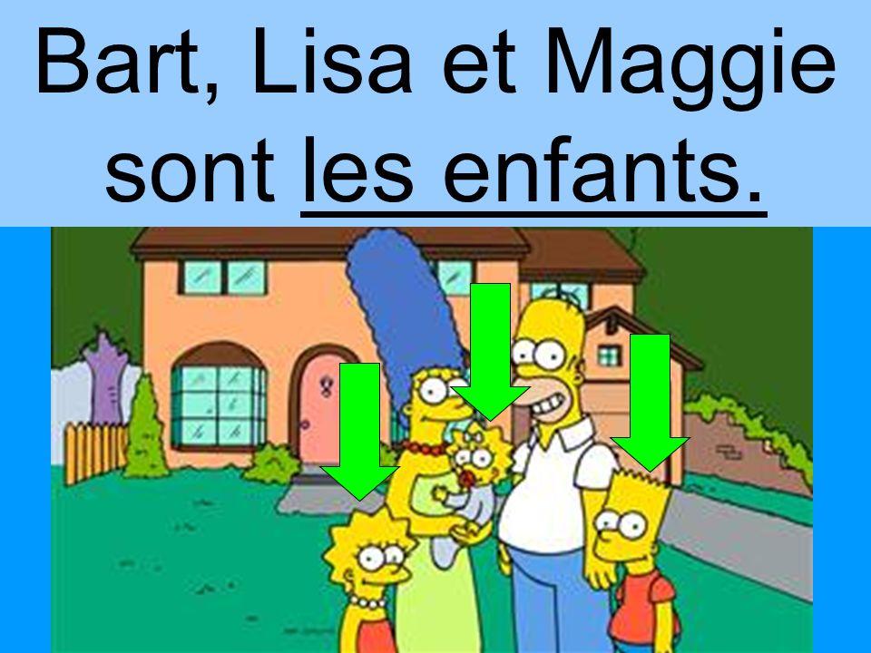 Lisa et Maggie sont sœurs.