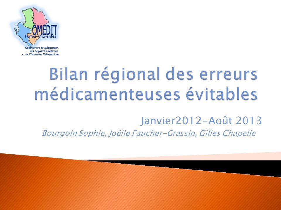 Janvier2012-Août 2013 Bourgoin Sophie, Joëlle Faucher-Grassin, Gilles Chapelle
