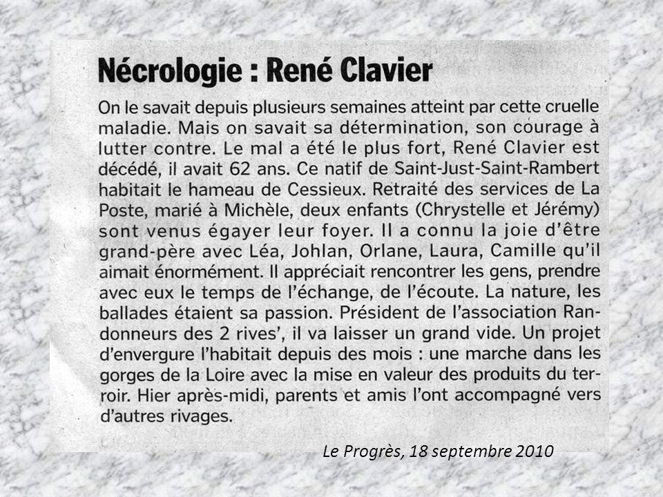 Le Progrès, 18 septembre 2010