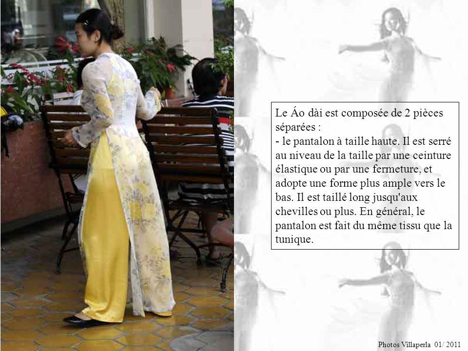 Et bien voilà… Le Áo dài est la tunique traditionnelle du Viet Nam. Il était à l'origine porté dans le centre et le sud du pays, porté par les femmes