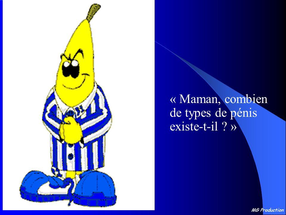 MG Production « Maman, combien de types de pénis existe-t-il ? »