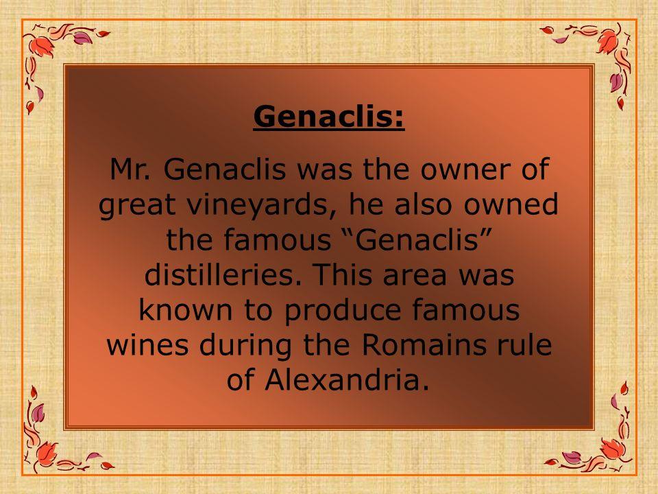 Genaclis: Mr.