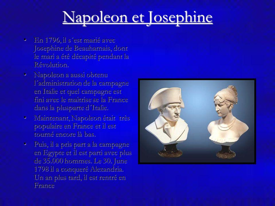 Napoleon Bonaparte En 1786, après la mort de son père, il est retourné en Corse pour régler les problèmes de la famille.En 1786, après la mort de son