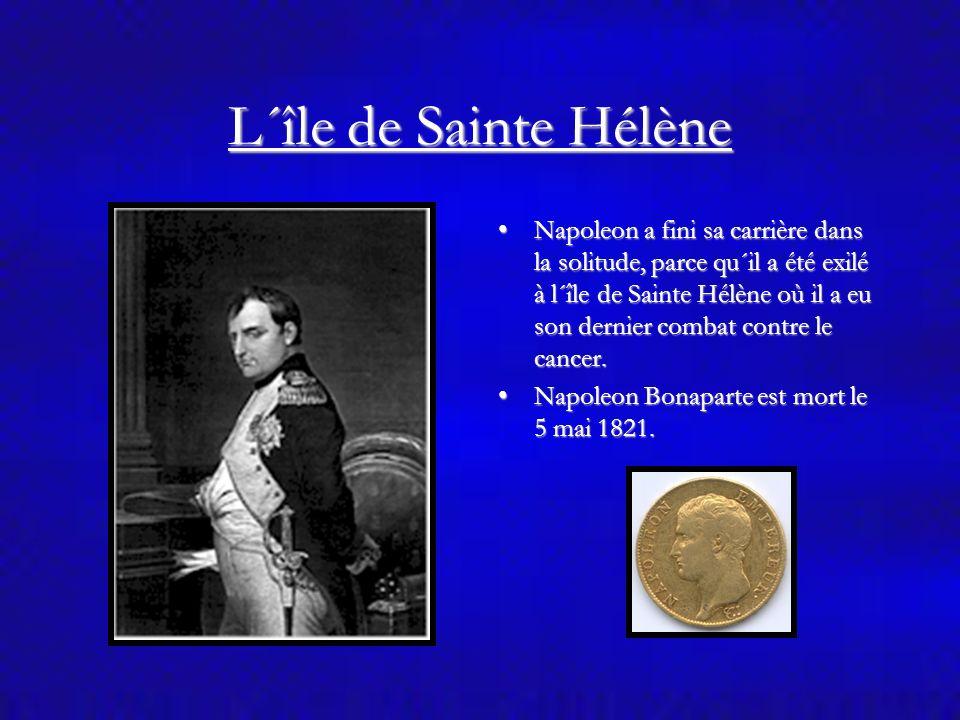 Napoleon Bonaparte Napoleon est marié avec la fille de l´emperaur d´Autriche, parce que sa femme était stérile.Napoleon est marié avec la fille de l´e