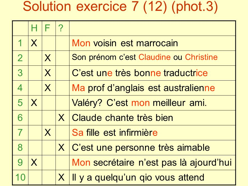 Solution exercice 7 (12) (phot.3) HF.