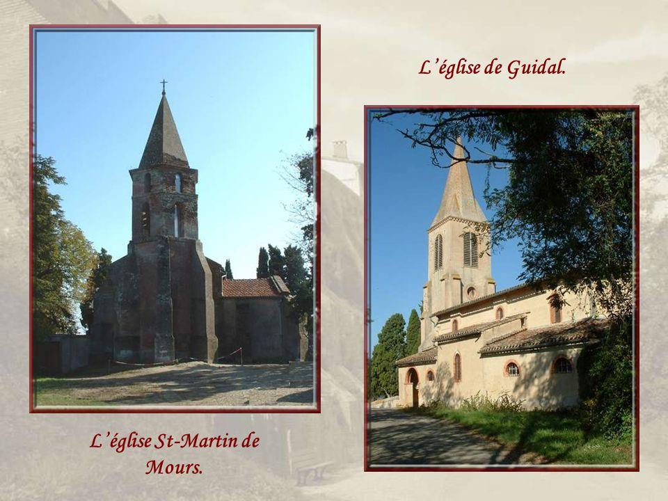 Léglise St-Pierre de Bracou et son clocher-mur. Léglise Ste-Quitterie.