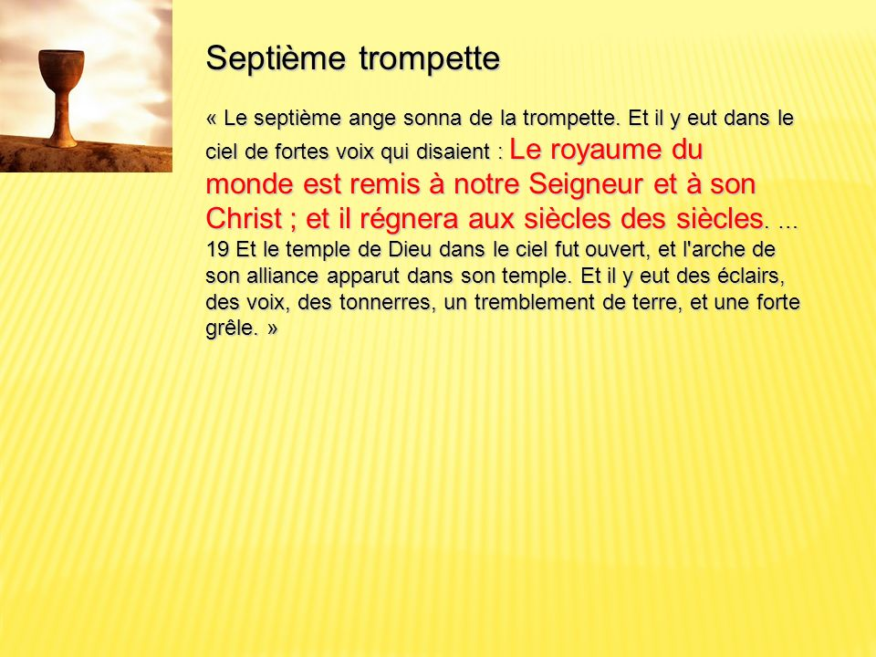 Apocalypse 19 : 16 16 … Malheur.malheur.
