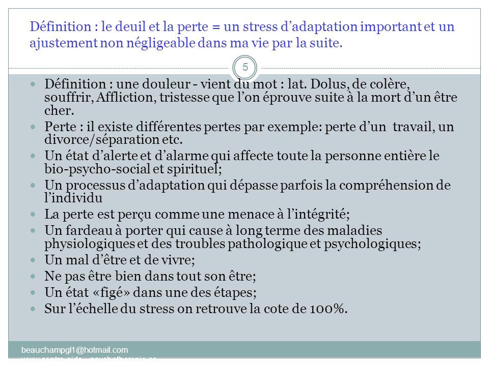 La phase 2 : la confrontation 2) Réagir à la séparation, à la perte, au manque, à labsence etc.