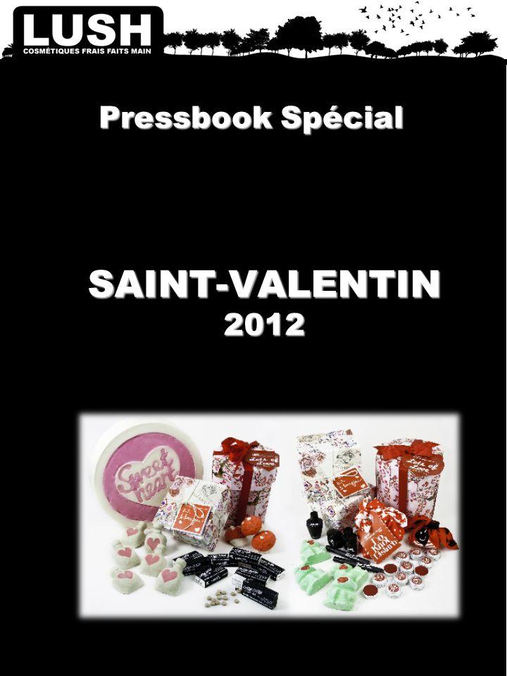 Pressbook Spécial SAINT-VALENTIN 2012