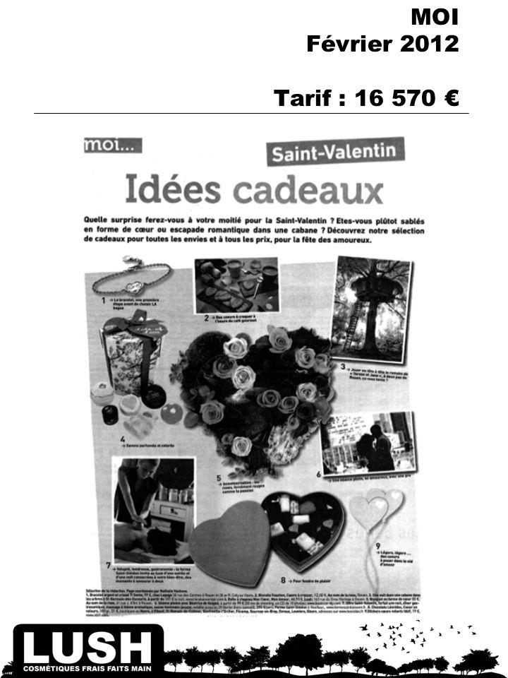 TV REGIONS – Ed. La Gazette de Montpellier 11 au 17 Février 2012 Diffusion : 15 625 Tarif : 2 774