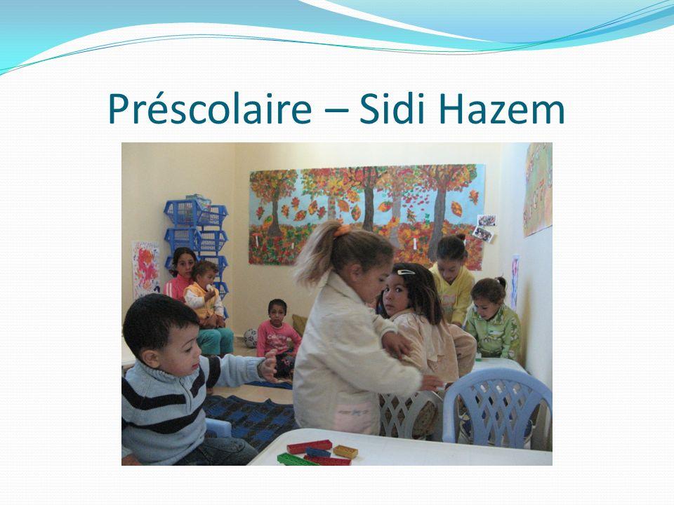 Préscolaire – Sidi Hazem