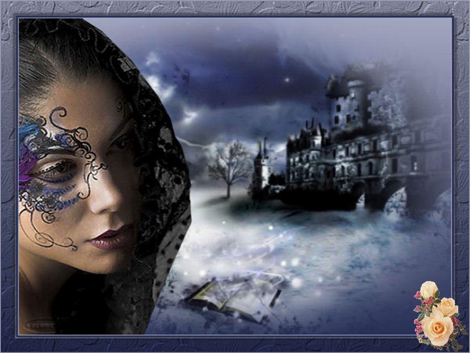 Le soir venu lesprit hanté de rêves brumeux La lune luit dans ses beaux cheveux Elle est unique avec ses yeux de saphir doux Un gitan se penche vers elle pour lui effleurer Le cou … Un violon berce ses plus douces rêveries Attendrie, elle linvite à partager sa nuit Dans le frisson suave de la chambre Elle se rappelle les fleurs de septembre…