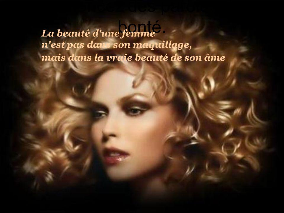 La beauté dune femme Texte auteur inconnu