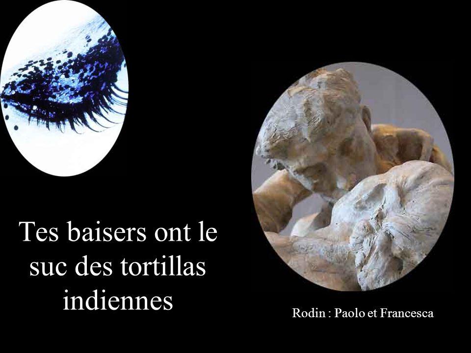 Oh toi ma femme aux paupières de cèdre bleu Rodin : La Bacchante