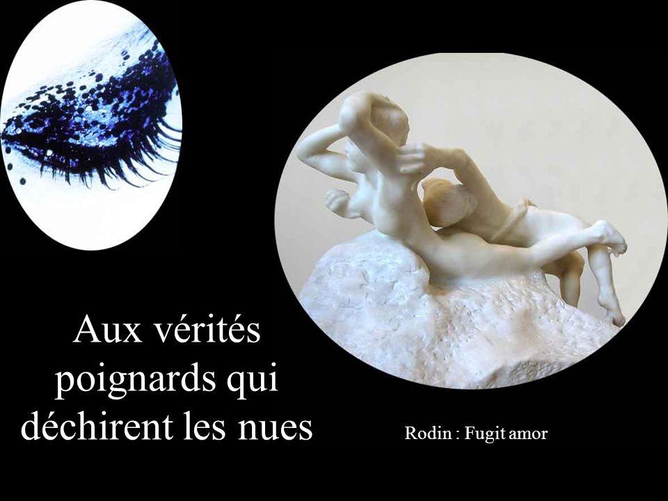 Ma femme aux pieds de lune aux empreintes de fleurs Rodin : Pygmalion et Galatée