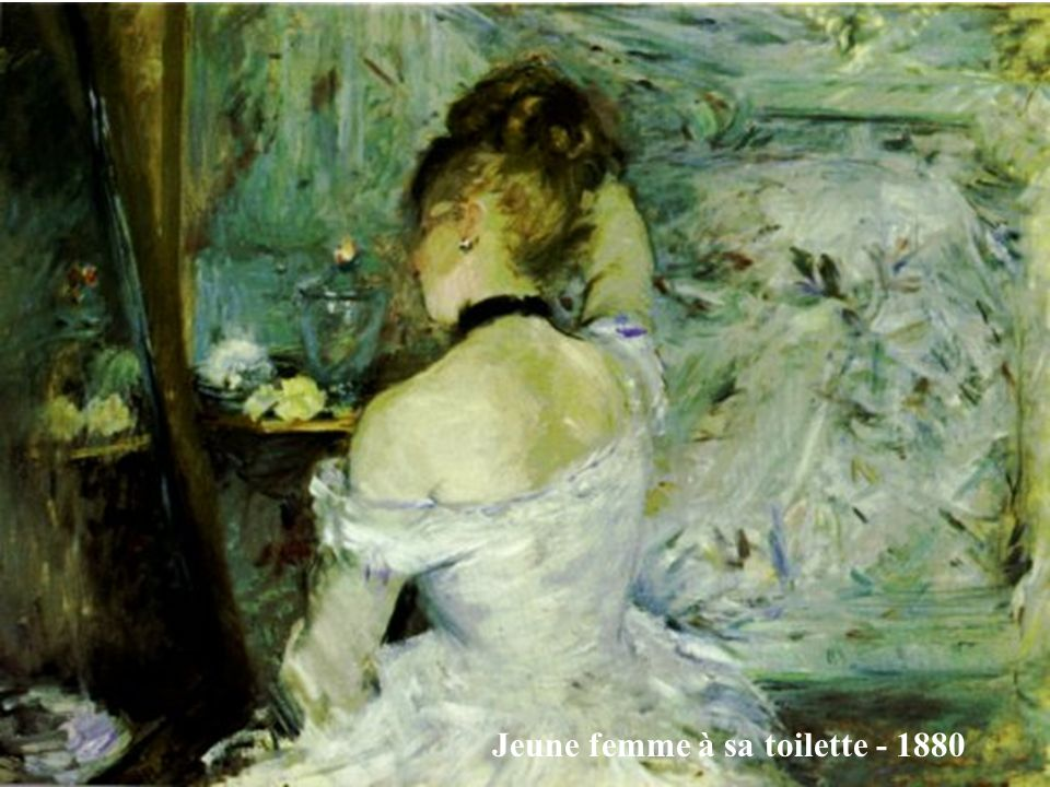 Jeune femme à sa toilette - 1880