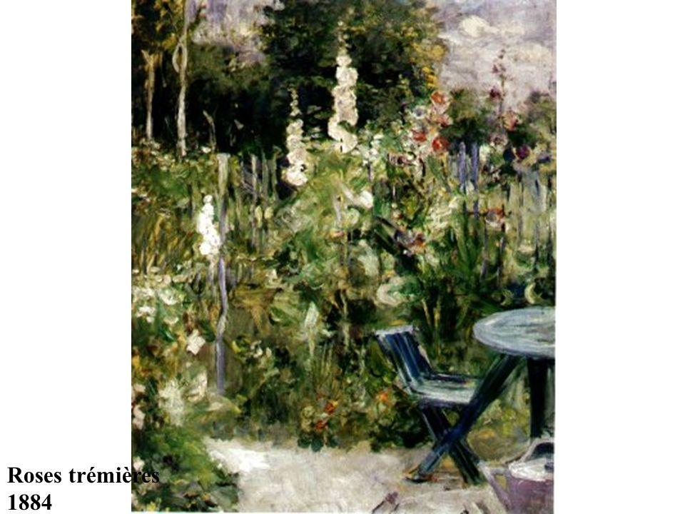 Roses trémières 1884