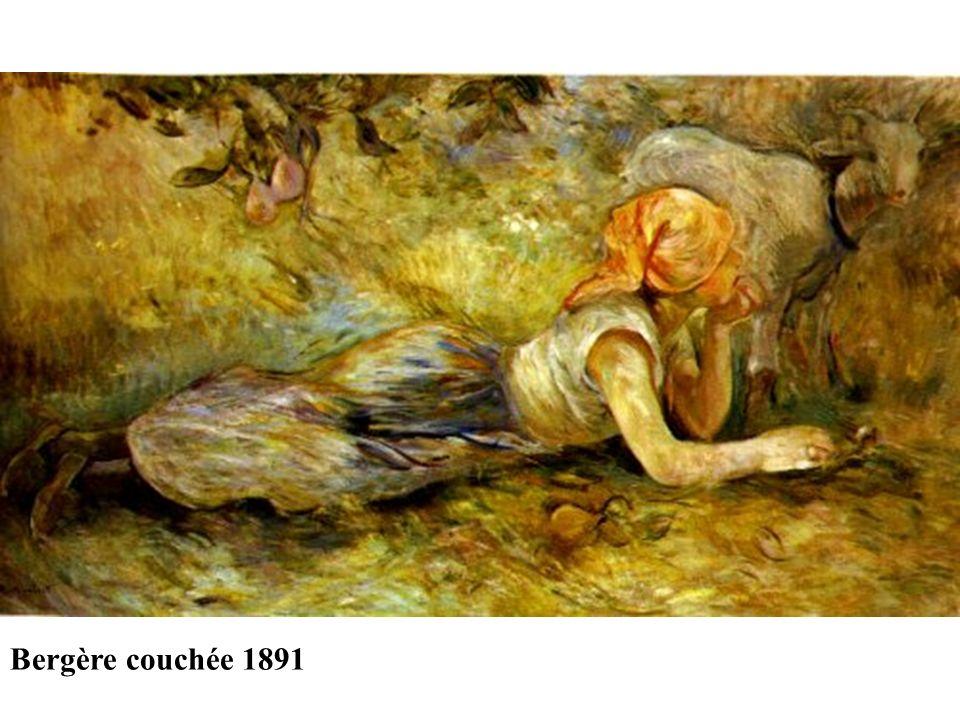 Bergère couchée 1891